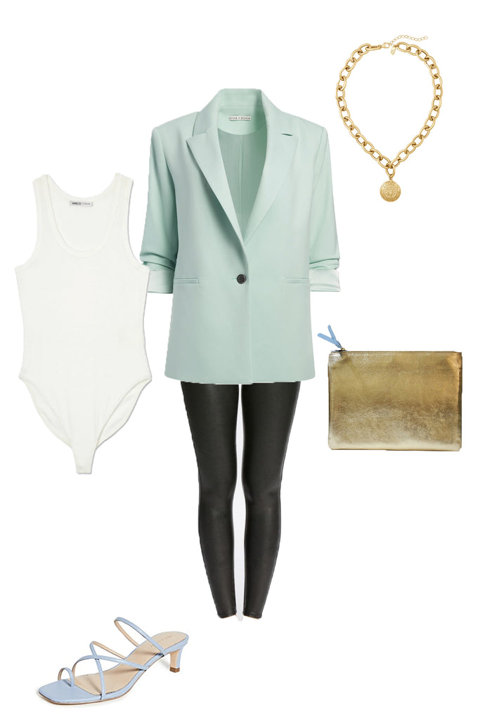 Spring blazer outfit