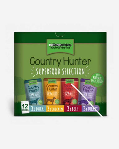 Natures:Menu - Country Hunter Super Selection til hund