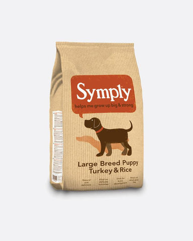 Symply Puppy Large Breed - Turkey & Rice - 12 Kg