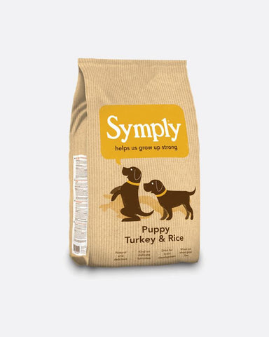 Symply Puppy - Turkey & Rice - 12 Kg