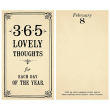 365 Lovely Thoughts For Each Day of The Year