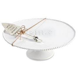 We Tied the Knot Cake Stand