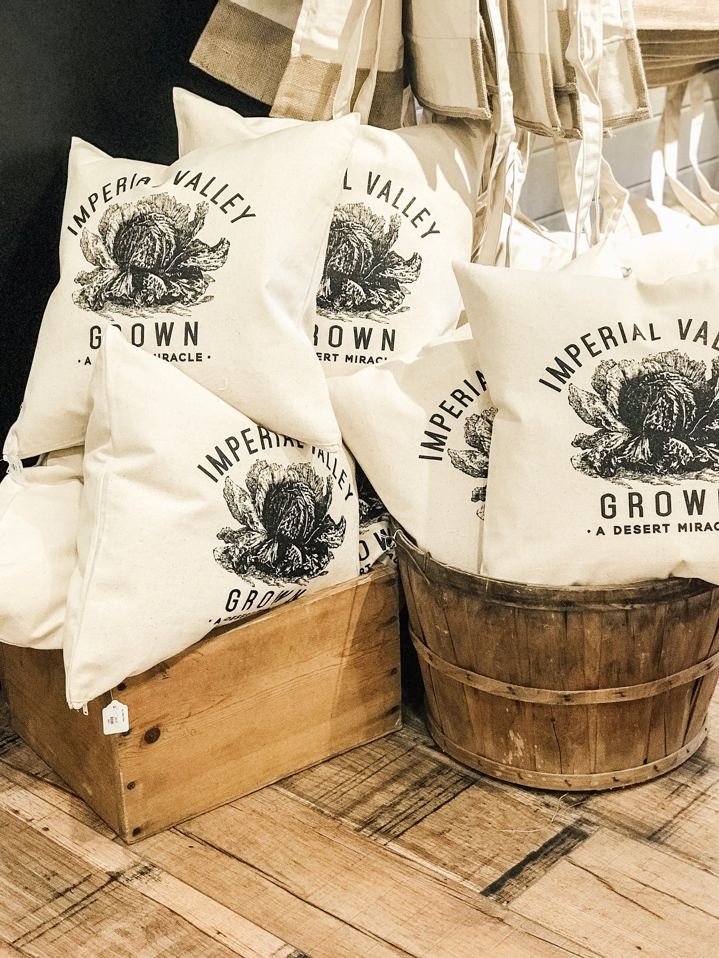 Imperial Valley Grown Pillow