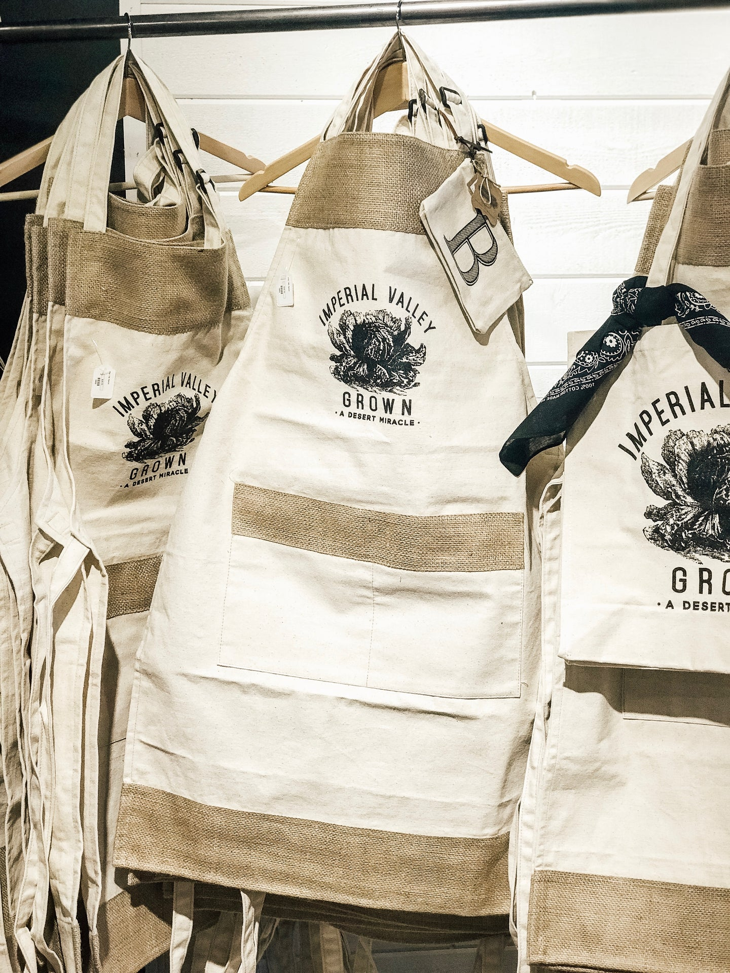 Imperial Valley Grown Apron