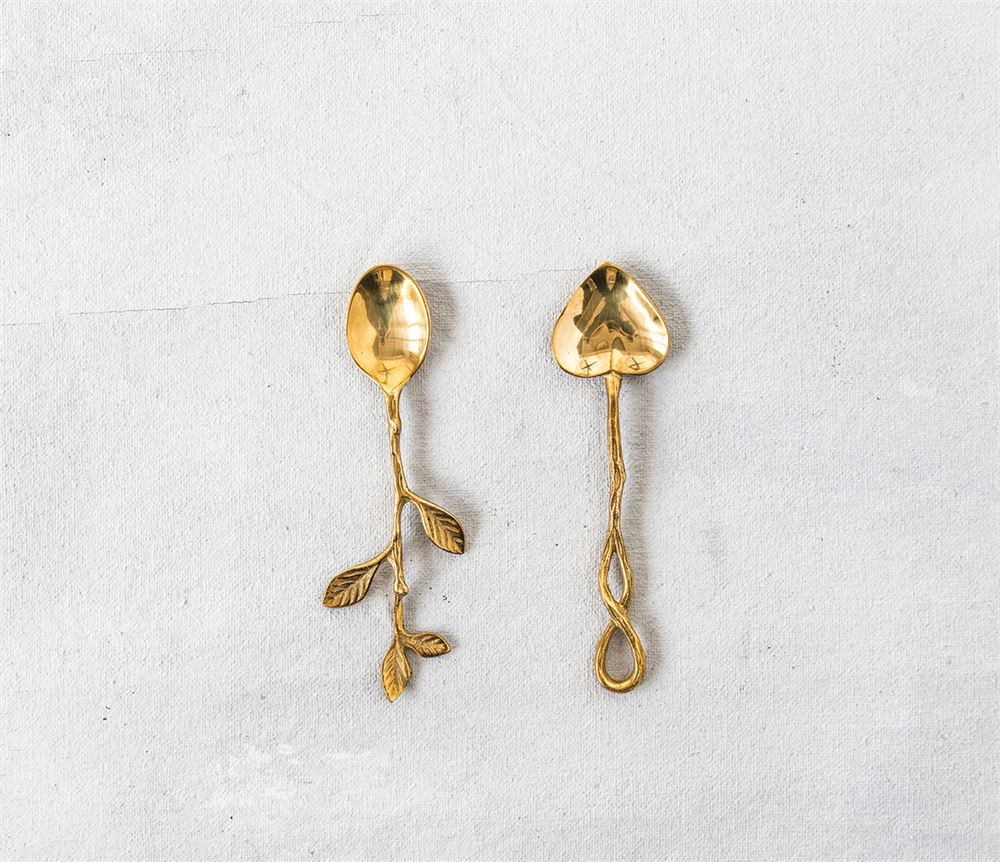 Gold Mini Spoons