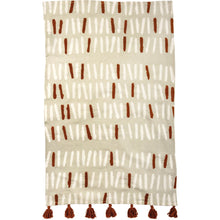 Dish towels with Tassels