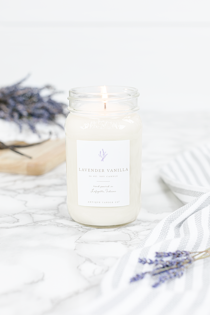 Lavender Vanilla Candle and Wax Melts
