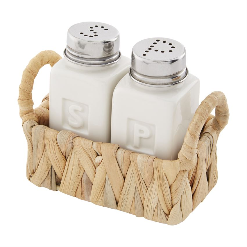 Water Hyacinth Salt and Pepper Set