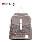 Canvas High Quality Casual Girl Backpacks - Gracyfy