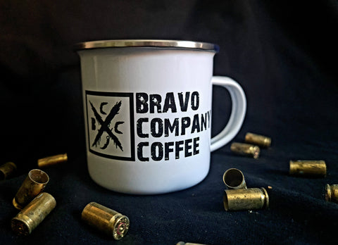 BCC Casual Knife Enamel Mug