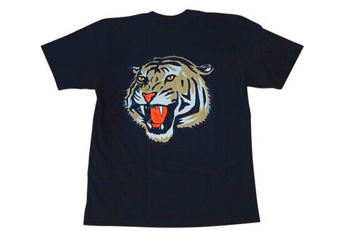 Black v2 Tiger Oversized Tee
