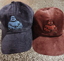 Corduroy Lucky Buddha Dad Hat