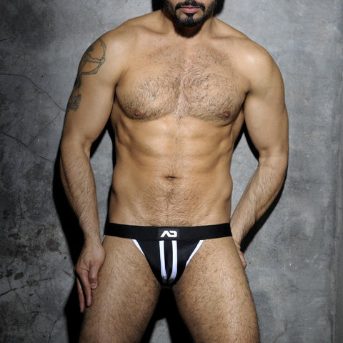 Addicted Fetish Stripe Jock Strap (ADF13)