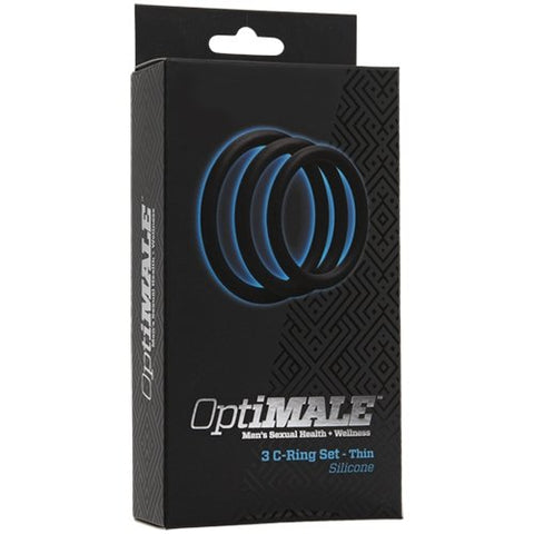 OptiMALE Cock Ring Kit Thin (0690.01)