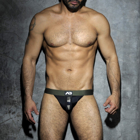 Addicted Camouflage Panel Jock Strap (ADF18)