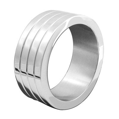 Stainless Steel Mega Wide Band Cock Ring