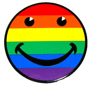 Rainbow Smiley Face Sticker/Decal
