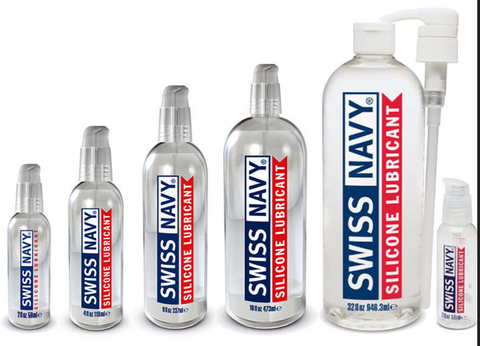 Swiss Navy Silicone Based Lube - Various Sizes