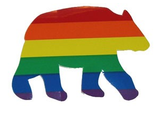 Rainbow Bear Sticker/Decal