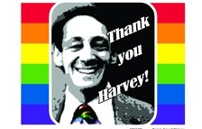 Thank You Harvey Sticker