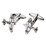Spitfire Airplane Cufflinks (SC01)