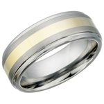 Two Tone Tungsten Ring (TUR12)