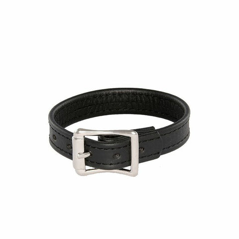 Buckle Leather Cockring 95069
