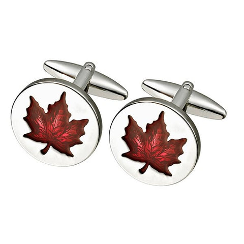 Maple Leaf Cufflinks (SC85)