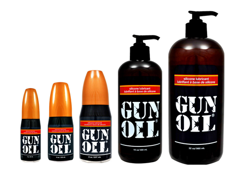 Gun Oil Silicone Based Lube - Various Sizes