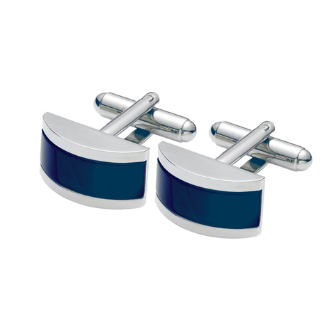 Rectangular, Rounded Cat Eyes Cufflinks (SC45)