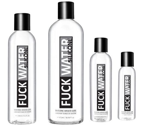 FuckWater Silicone Based Lubricant - Various Sizes