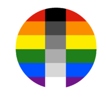 Homo Flexible Pride Button