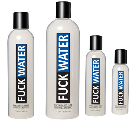 FuckWater (Original) Water Based Lubricant - Various Sizes