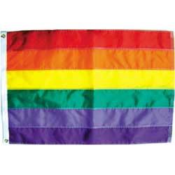 Rainbow Flag Sewn Nylon - Various Sizes