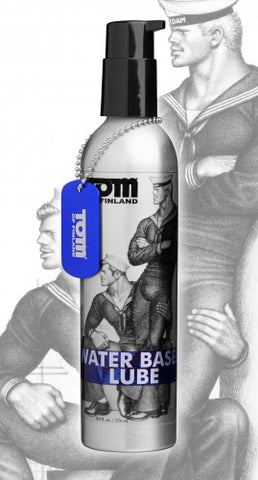 Tom of Finland Water Based Lube 8 oz