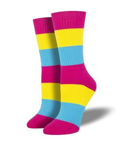 Pansexual Pride Socks