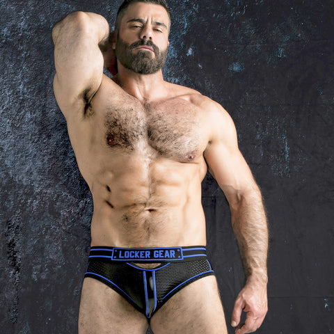 Locker Gear Bottomless Brief with Front Opening (LK0521)