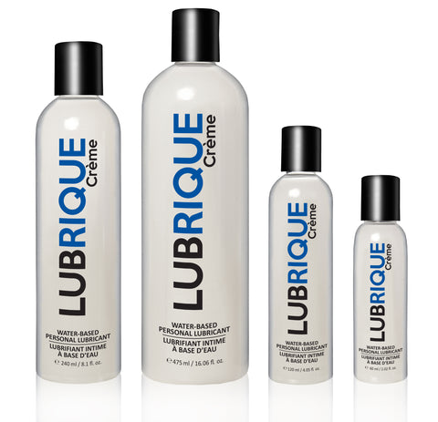 Lubrique Crème Water Based Lubricant - Various Sizes