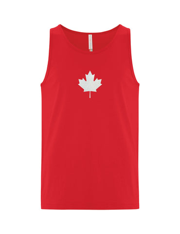 VRS Glitter Leaf Tank Top