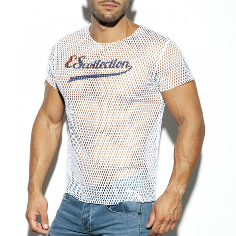 ES Collection Open Mesh T-Shirt (TS254)