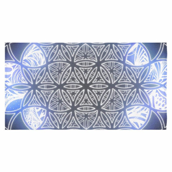 "Flower of Life - Ice Bath Towel 30""x56"""