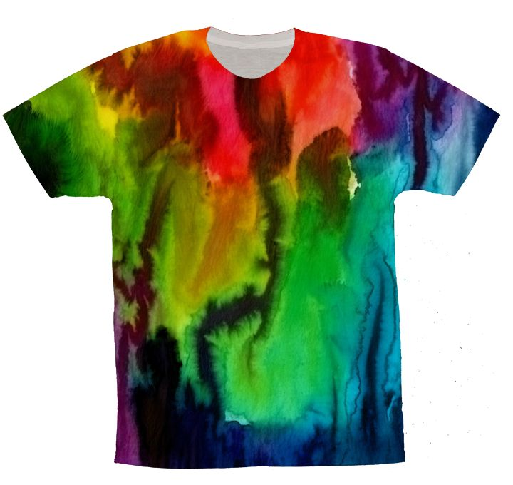 Tie Dye Watercolor 13