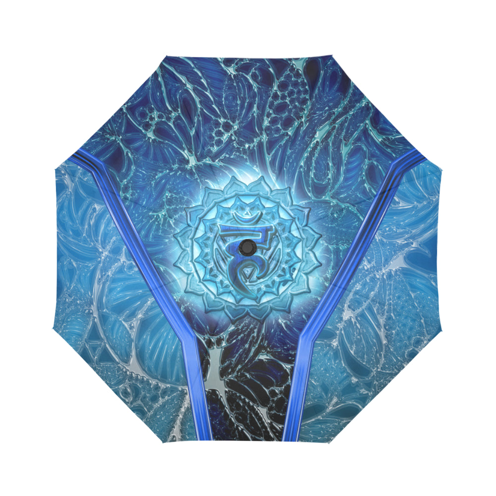 Throat Charka VishuddhaAuto-Foldable Umbrella
