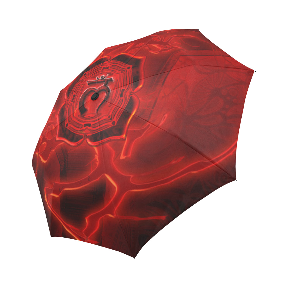 Root Chakra Muladhara Auto-Foldable Umbrella