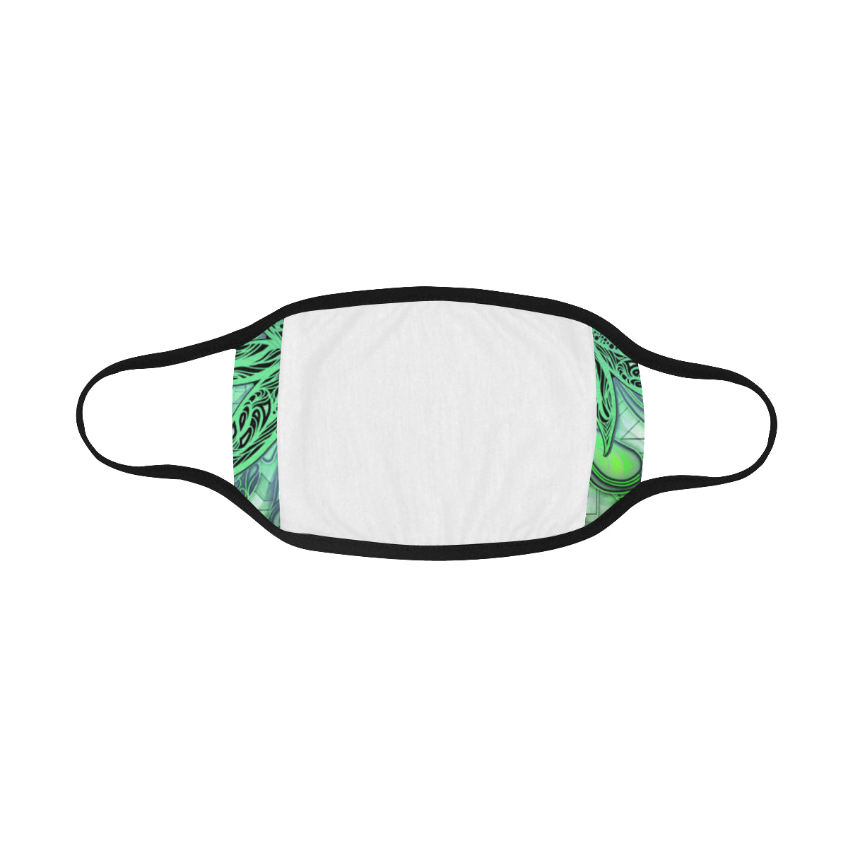Dank Bud Green Mouth Mask