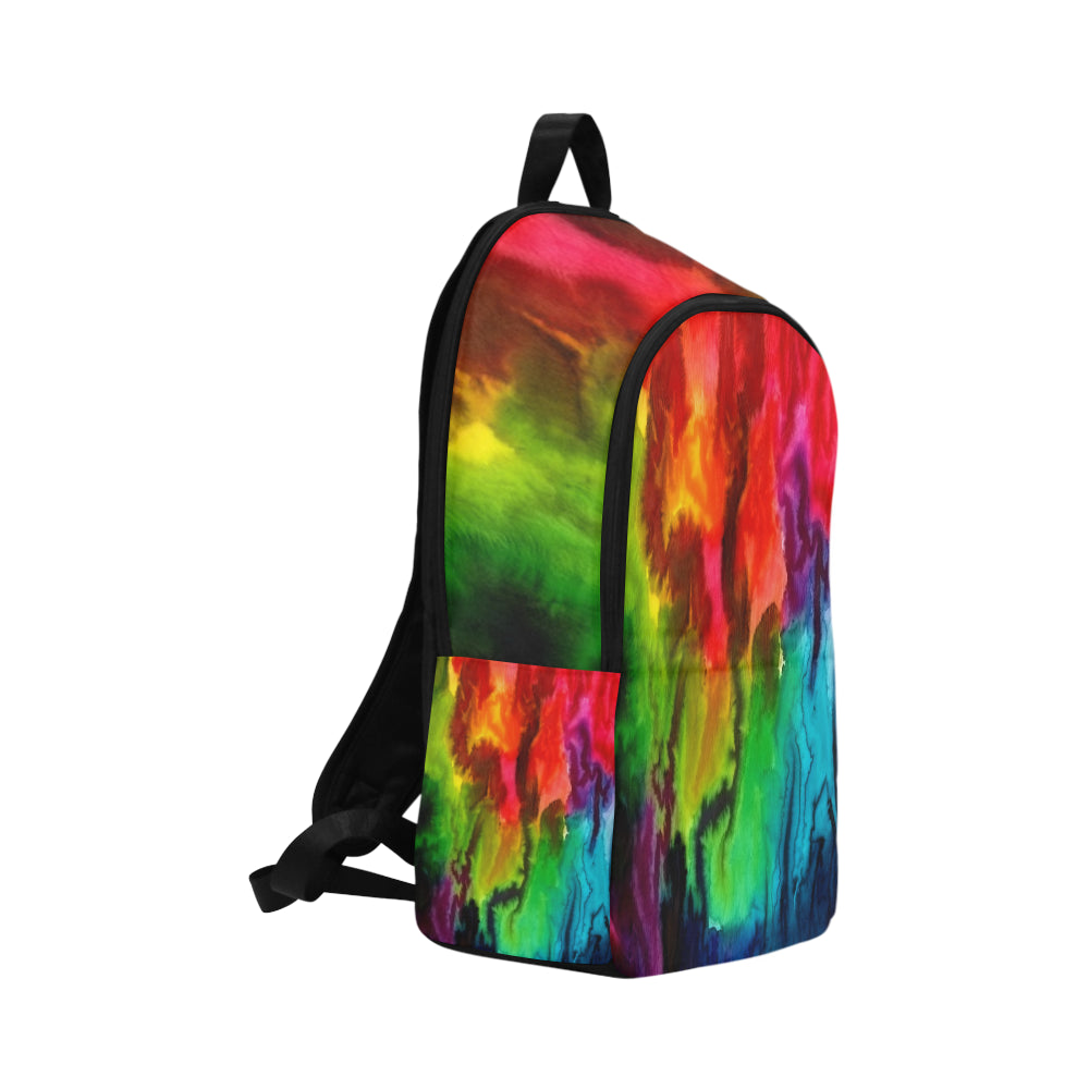 WaterColor 13 Fabric Backpack for Adult
