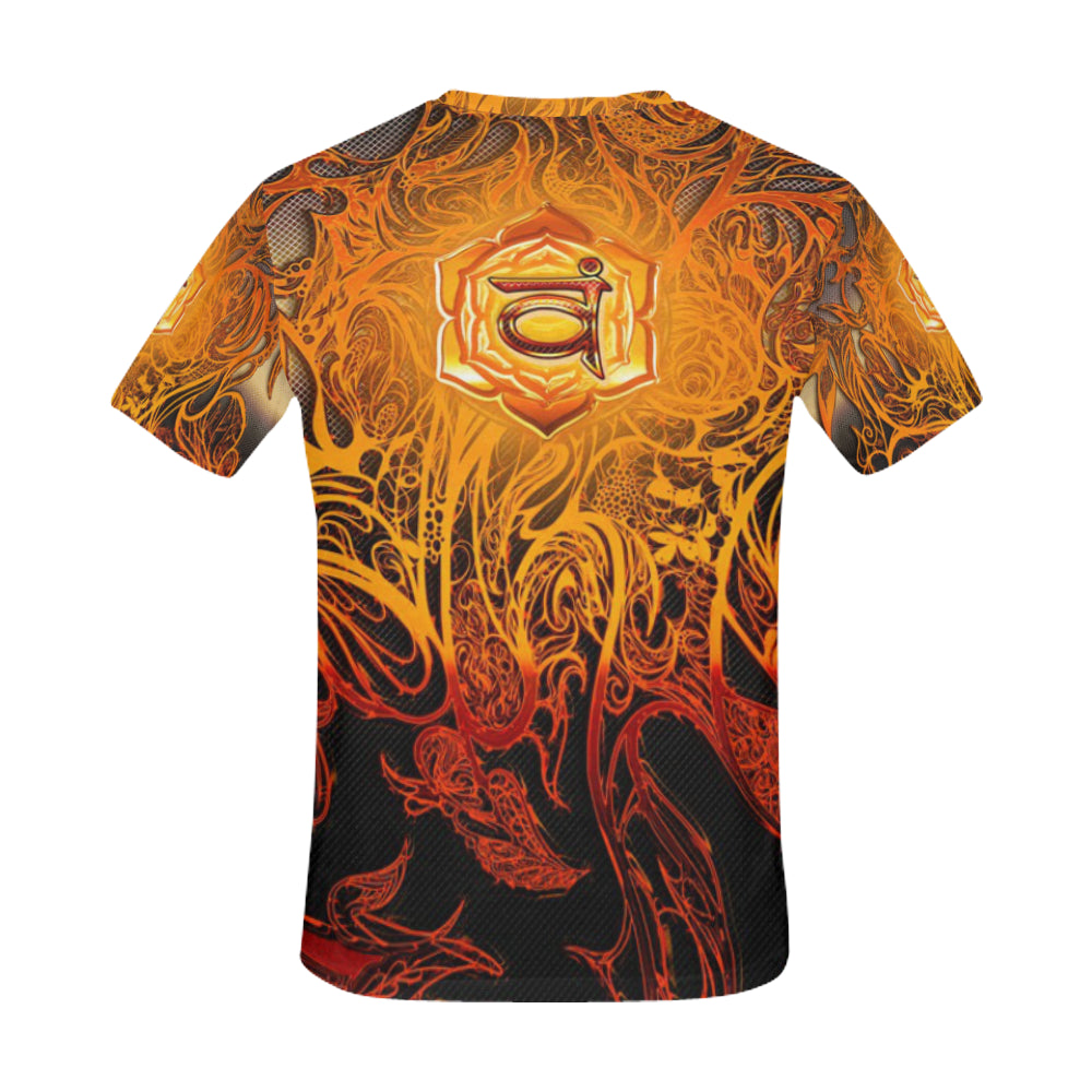 Sacral Chakra Svadhishthana All Over Print T-Shirt for Men