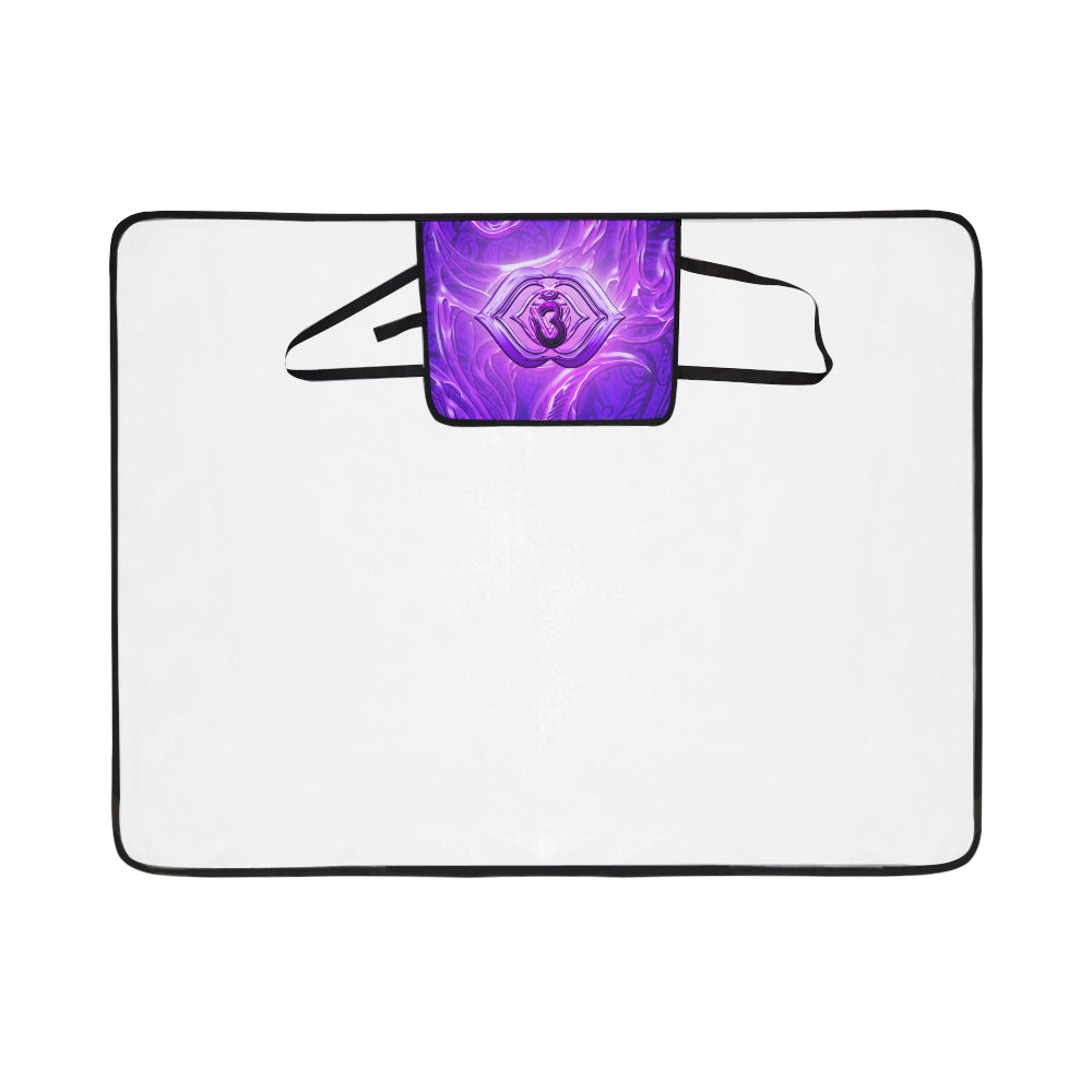 Third Eye Chakra Anja Portable & Foldable Mat 60''x78''