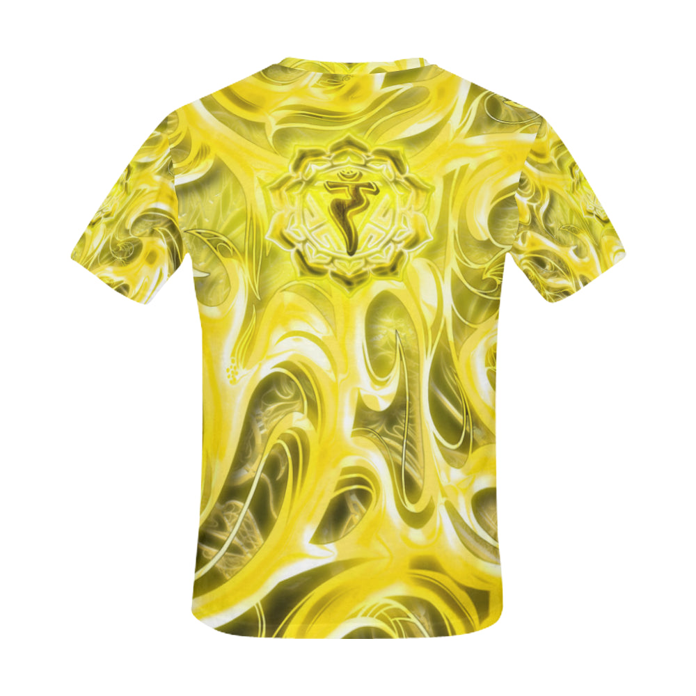 Solar Plexus Chakra Manipura All Over Print T-Shirt for Men