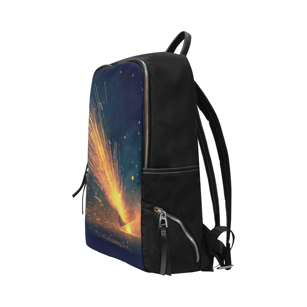 Fire Cracker 8559 Unisex Slim Backpack